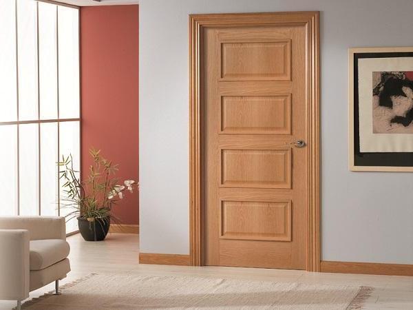 Puertas de madera carpintero sevilla for Puertas modernas para dormitorios
